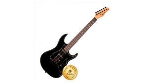 Tagima Guitarra Stratocaster TG-520BK DF Preto Basswood