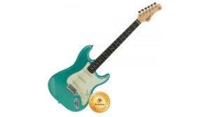Tagima Guitarra Stratocaster TG-500MSG Metallic Surf Green
