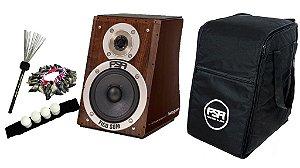 Cajon Fsa Design Captação Dupla Bag Vassourinha de aço Canela Shaker e Unha de Cabra