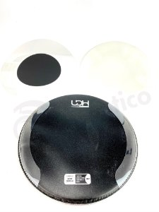 "Luen Pele One Custom Porosa c/ Anel Lateral 14"" Preta 98030PT"