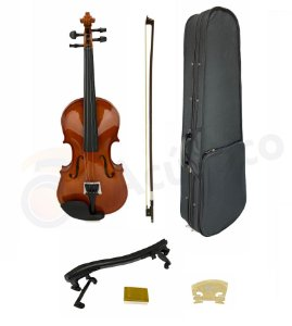 Harmony Violino Acústico 4/4 Arco Cavalete Breu Estojo Luxo 1325