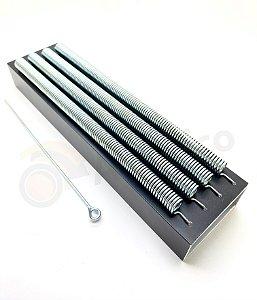 Ubi Reco Reco Alumínio Preto 4 molas URR4M