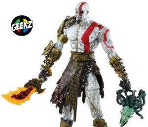 GOD OF WAR II KRATOS NECA TOYS 18CM