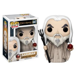 FUNKO POP! MOVIES SENHOR DOS ANÉIS LORD OF THE RINGS SARUMAN #447