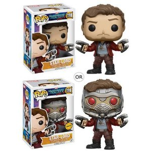 FUNKO POP! MOVIES GUARDIANS OF THE GALAXY GUARDIÕES DA GALAXIA STAR-LORD #198