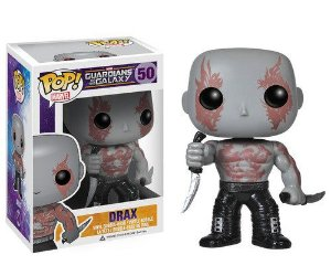 FUNKO POP! MOVIES GUARDIANS OF THE GALAXY GUARDIÕES DA GALAXIA DRAX #50