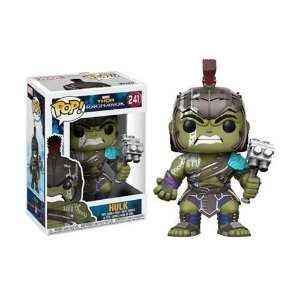 Thor Ragnarok Hulk Helmeted Gladiator Funko Pop! Figure #241