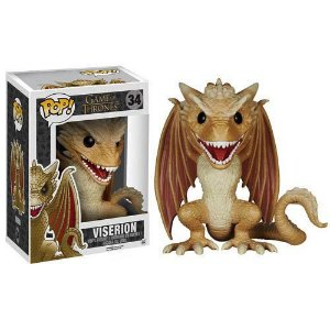 Game of Thrones Viserion Dragão 15 cm Funko Pop!