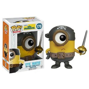 Funko Pop! Minions Movie Eye Matie #170 Meu Malvado Favorito