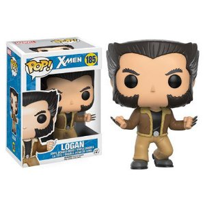 Funko Pop! X-men Logan Wolverine Vinyl Figure #185 Original