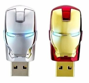 PEN DRIVE IRON MAN USB 2.0 MARK II MARK III - 8Gb 16Gb 32Gb 64Gb