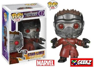 FUNKO POP! MARVEL GUARDIANS OF THE GALAXY STAR-LORD #47 SENHOR DAS ESTRELAS