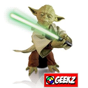 LEGENDARY YODA STAR WARS DISNEY SPIN MASTER 40CM