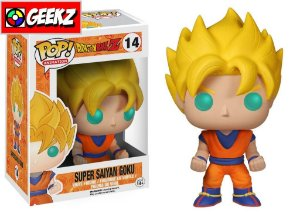 FUNKO POP! DRAGON BALL GOKU SUPER SAYAJIN 14