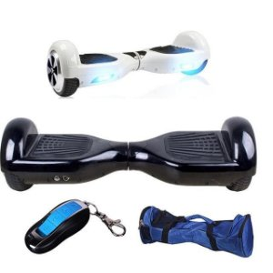 SKATE ELÉTRICO HOVERBOARD SCOOTER SMART BALANCE WHEEL CONTROLE REMOTO E BLUETOOTH
