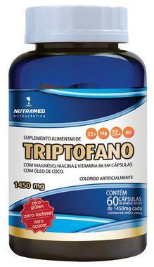 100% Natural - Triptofano + Vit. B3, B6 e Magnésio - 60 cápsulas