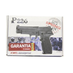 PISTOLA PRES KWC P226 MOLA METAL 4,5MM
