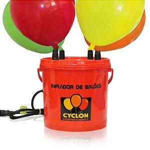 Inflador Touch Profissional de Balões 4 Bicos Cyclon