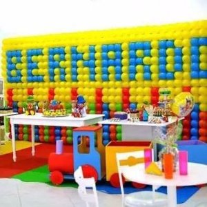Kit de 12 Telas Dobráveis Para Painel De Balões