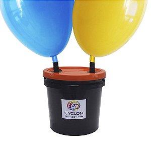 Inflador Profissional de Balões 2 bicos- Compressor de balão, bolas bexigas