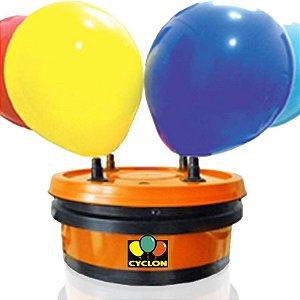 Inflador de Balões 4 bicos Turbo Pro – Compressor de ar para balões