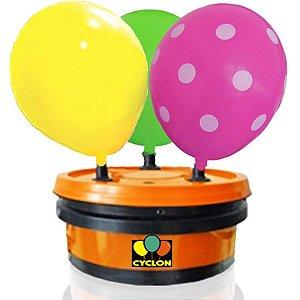 Inflador de Balões 3 Bicos Profissional - Compressor de Balões