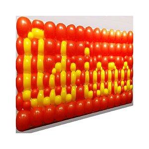 Painel de balões - Tela com 2 módulos