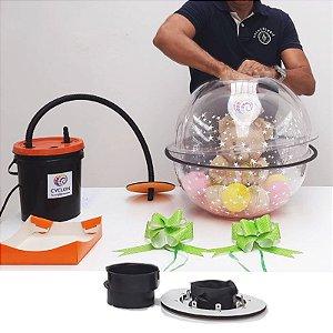 Embaladora de Balões G Cyclon com Inflador.