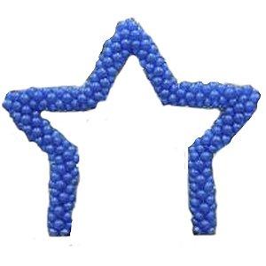 Arco de balões: Estrela