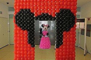 Portal de balões da Minnie