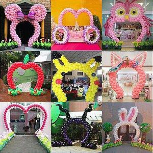 Suporte Arco Múltiplo Balões Festa