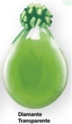 Balão 18 polegadas liso transparente
