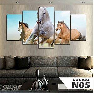 Quadro 3 cavalos claros