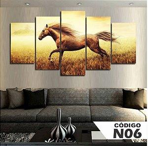Quadro Decorativo Cavalo Sépia