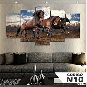 Quadro 3 Cavalos Escuros