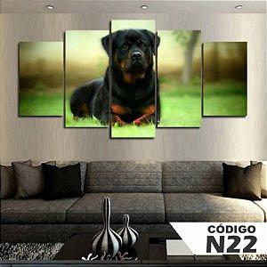 Quadros Decorativo Rottweiler