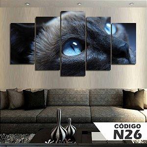 Quadros decorativos gato hd