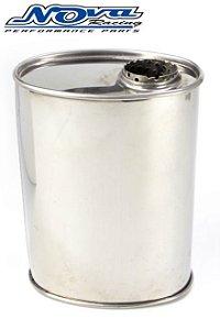 ABAFADOR DE ESCAPAMENTO UNIVERSAL INOX - TUPER - (COD. 18634)
