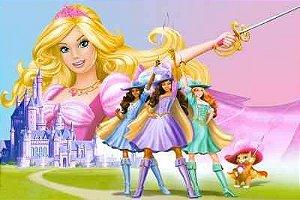 Barbie Três Mosqueteiras 01