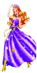 Barbie escola de princesas 02 - Display