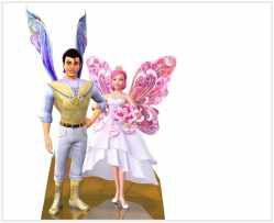 Barbie segredo das fadas 01 - Display