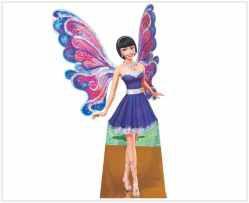 Barbie segredo das fadas 02 - Display