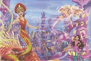 Barbie vida de sereia 04 - Display