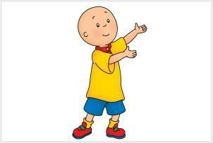 Caillou 02 - Display