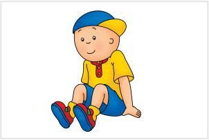 Caillou 03 - Display