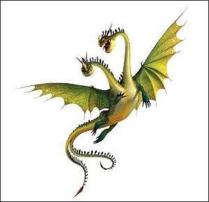 Como treinar seu dragão 11 - Display