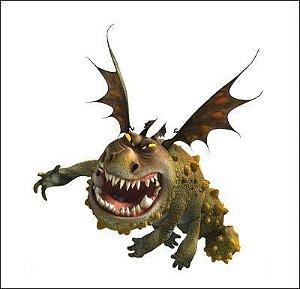 Como treinar seu dragão 13 - Display