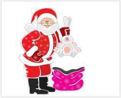 Papai Noel 01 - Display