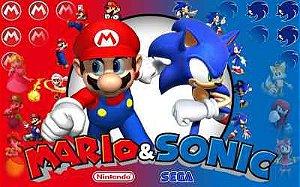 Mario Bros Sonic 03
