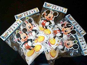 10 Kits Display Turma do Mickey Mouse com 06 Peças